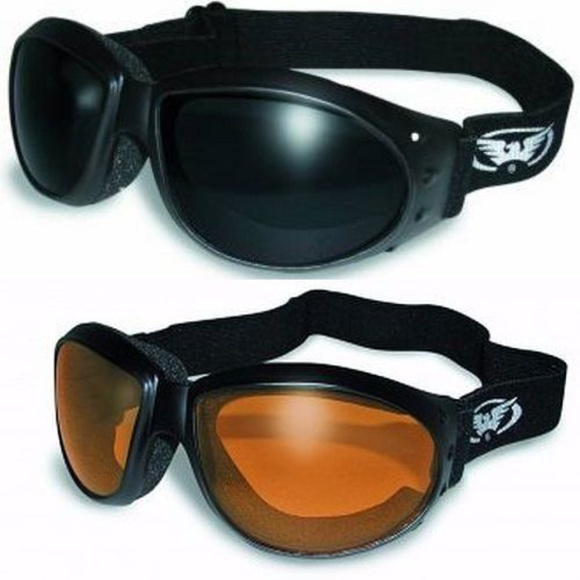 4aee2c7e99da7 Bundle 2 Goggles Motorcycle Horseback Riding Moped. Boutique. Global Vision